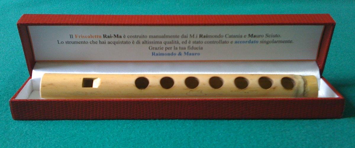 Costruire il friscalettu strumento tipico siciliano vendita